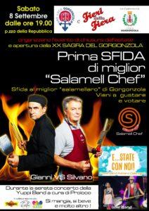 """""""Salamell chef"""" e apertura sagra con concerto di Yuppi Band @ Gorgonzola"""