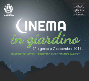 Cinema in giardino - film all'aperto @ gorgonzola