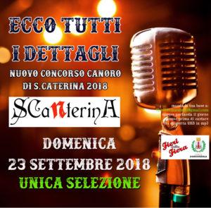 Selezione per 1° concorso canoro S CaNterina 2018 @ bar del parco gorgonzola