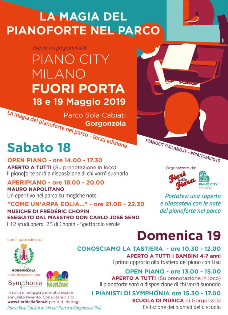 """III ed. MI-Pianocity - Evento fuoriporta """"Pianoforte nel parco"""""""