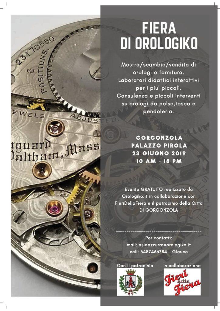 Fiera di Orologiko @ Palazzo Pirola