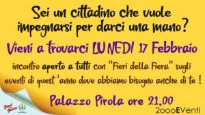 Assemblea Soci Fieri della Fiera x iscrizione all'associazione @ Palazzo Pirola - Gorgonzola